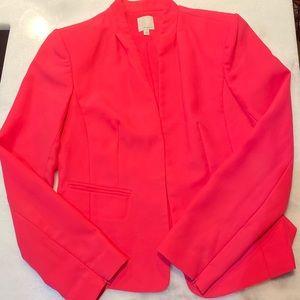 Halogen hot pink blazer